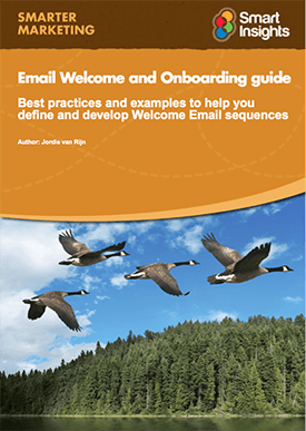 email welcome guide
