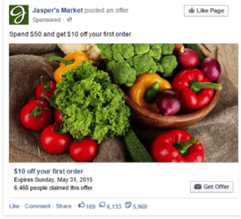 offer claims facebook ad