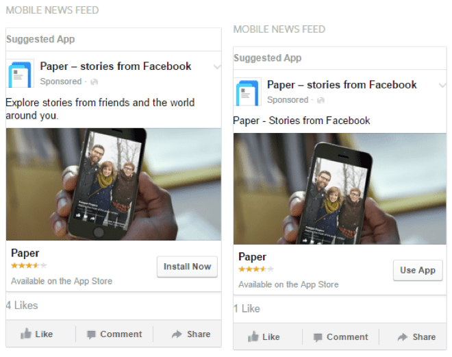 facebook ad ap engagement