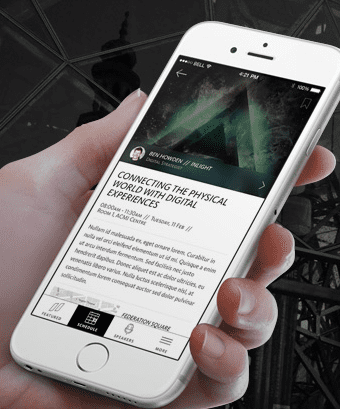 Pause Fest using IBeacons to promote events