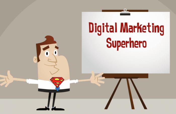 Digital Marketing Superhero