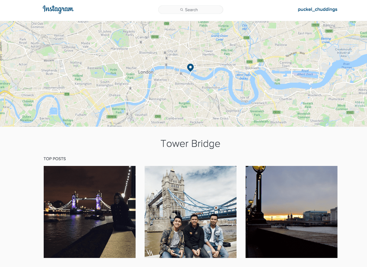 Instagram Search now available on the web