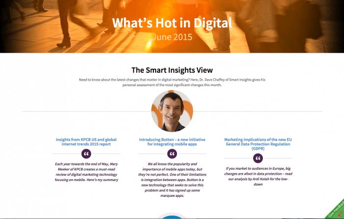Whats hot in digital June 2015