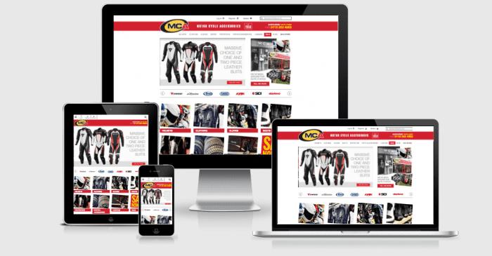 MCA Responsive Website