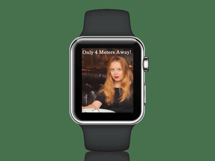smart watch dating app