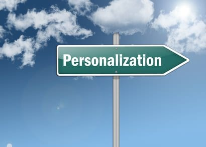 Which way to personalisation?