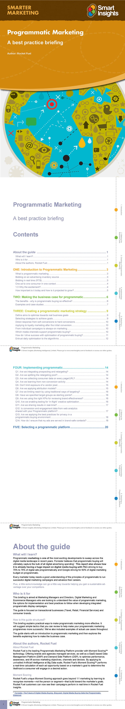 Programmatic Marketing Guide