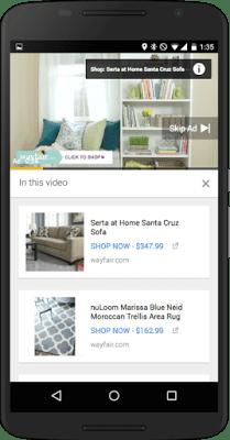 Mobile TrueView for Shopping