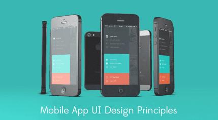 Mobile App UI Design principles