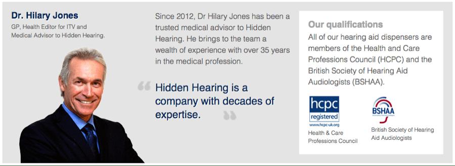 Hidden Hearing - Authority