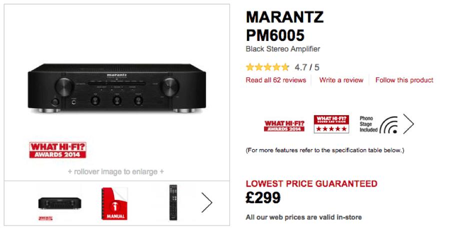 Richer Sounds - Product Reviews