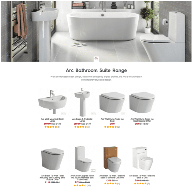 Victoria Plumb - Shop the range category page