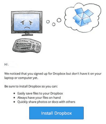 Dropbox email