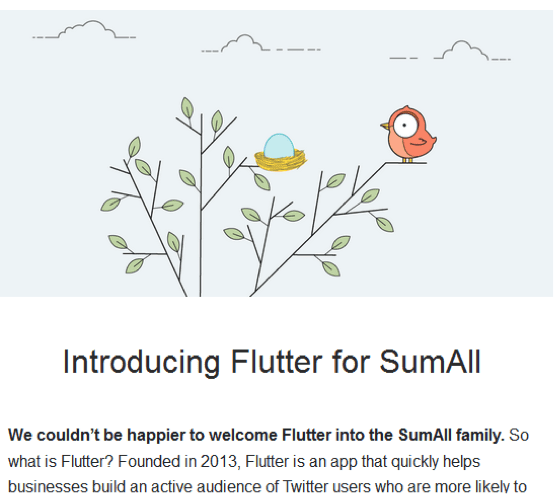 Introducing flutter for SumAll