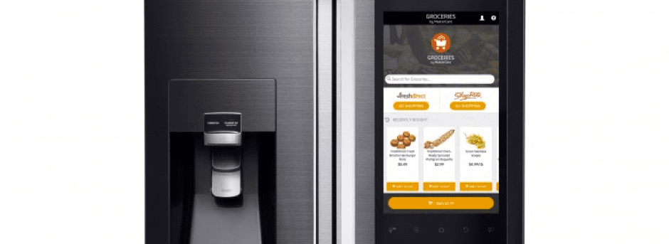 Family Hub Smart Fridge for ordering