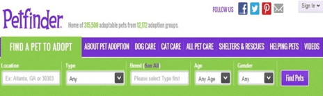 petfinder button copy