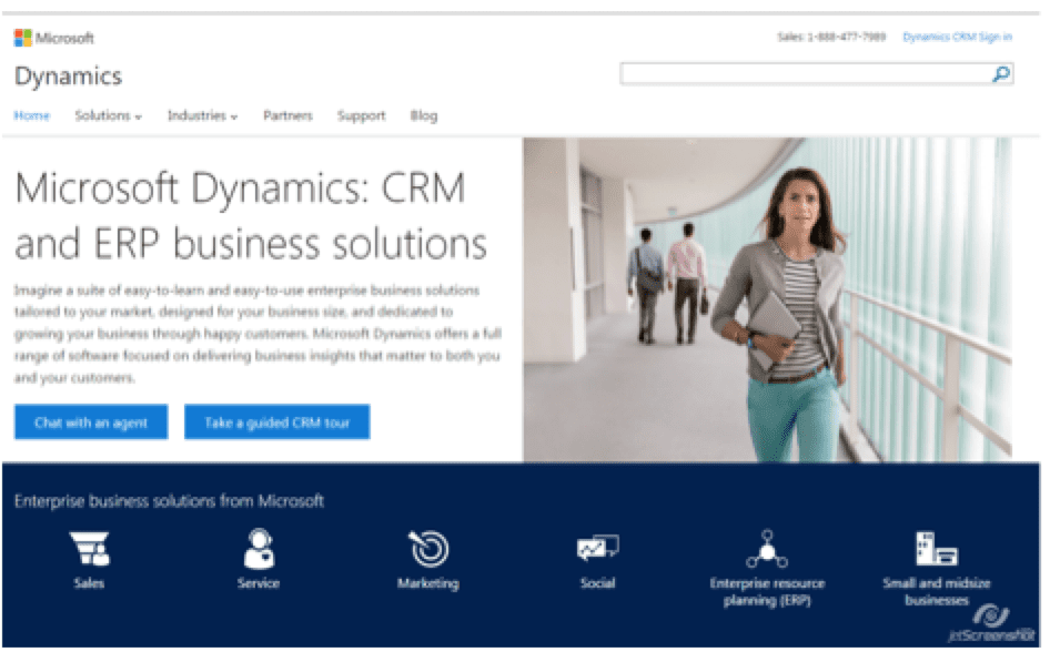 Top 5 CRM systems for financial services companies | Smart Insights