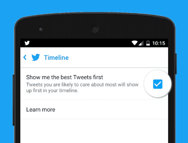 best tweets first
