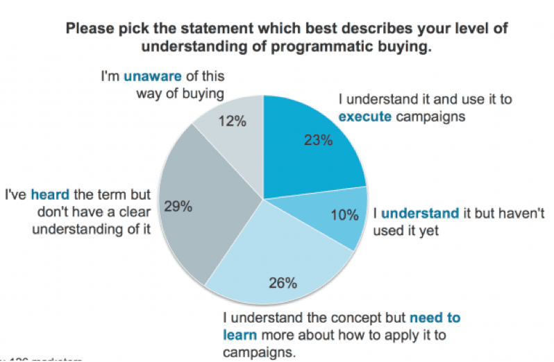 programmatic buying understanding study