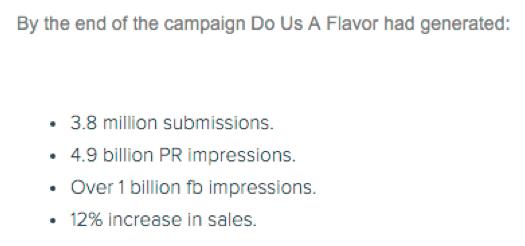 do us a flavor campaign