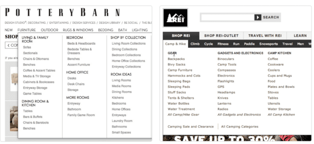 12 e commerce tips for your category pages | Smart Insights