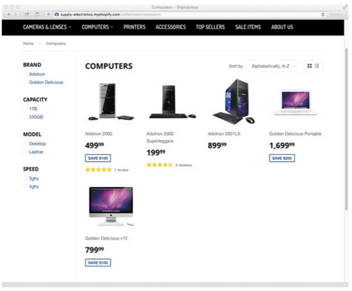 12 e-commerce tips for your category pages   Smart Insights
