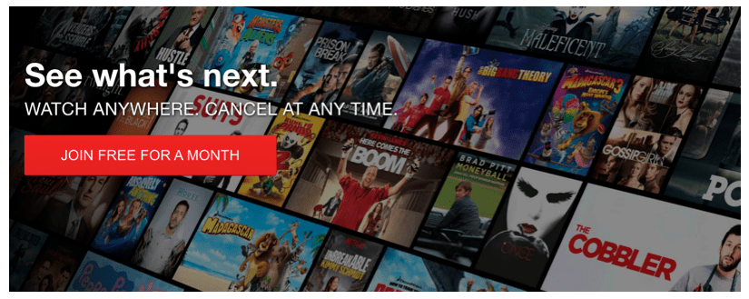 Netflix loss aversion