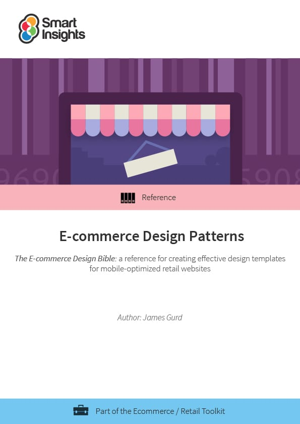 E commerce design pattern guide smart insights login here look inside malvernweather Gallery