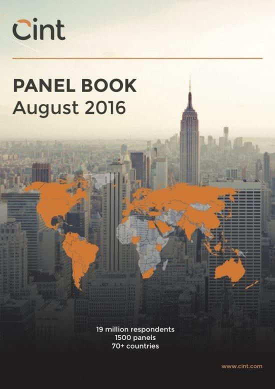 Cint Panel Book august 2016