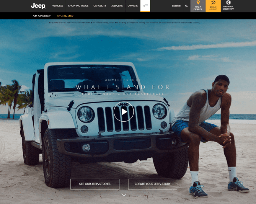 Jeep stories