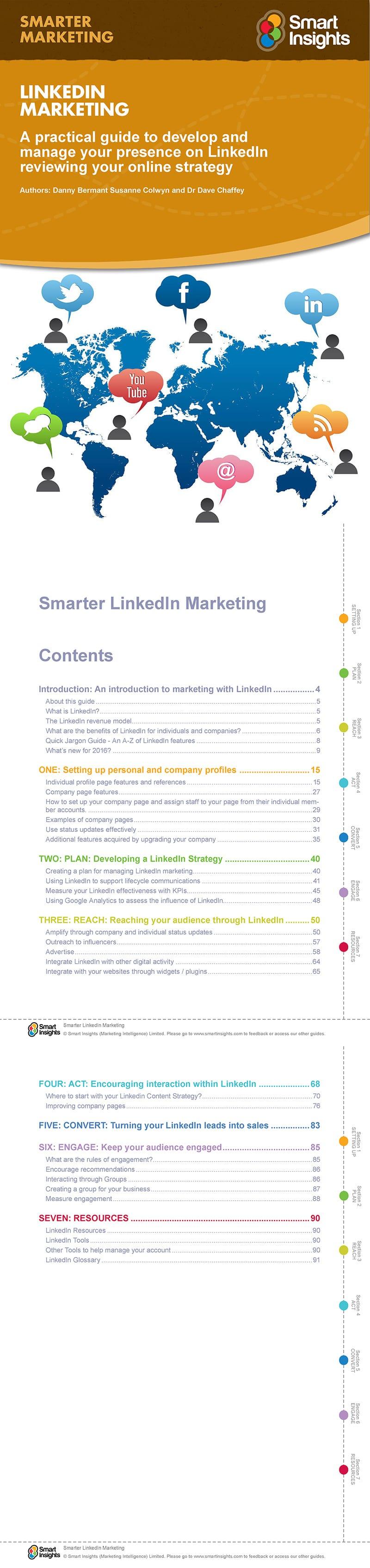 Smarter LinkedIn marketing guide