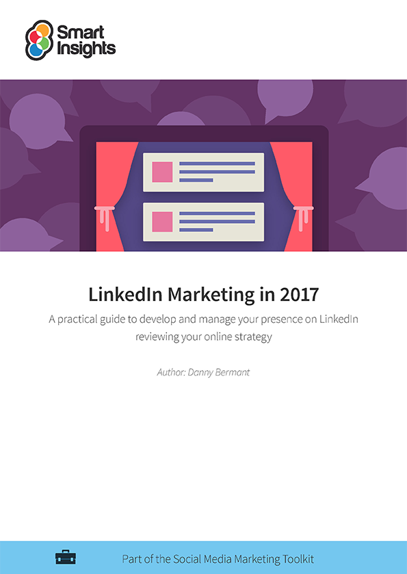 Smarter linkedin marketing guide smart insights learn more about membership already an individual or business member login here look inside pronofoot35fo Image collections