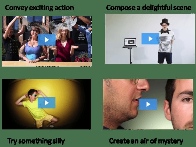 video thumbnails
