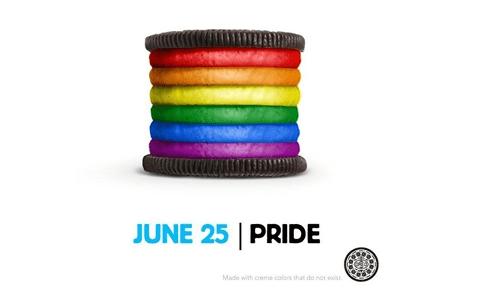 Oreo pride