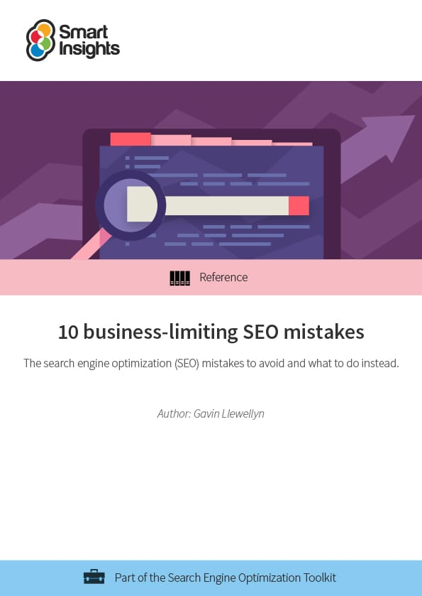 10 business-limiting SEO mistakes featured image