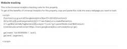 website tracking script