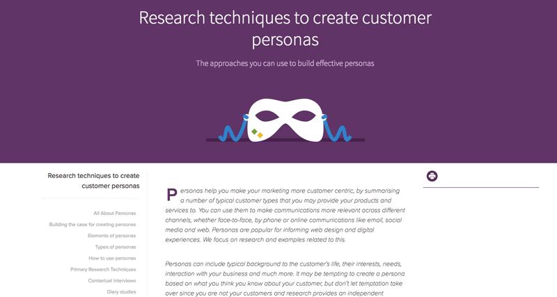 Persona research guide