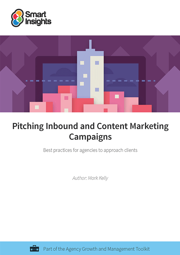 agency pitch template - how to pitch inbound and content marketing campaigns