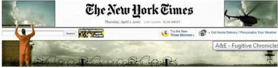 Banner ads example