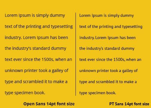 Font-comparison