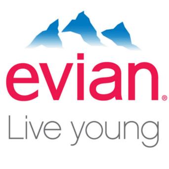 arial-font-evian-logo
