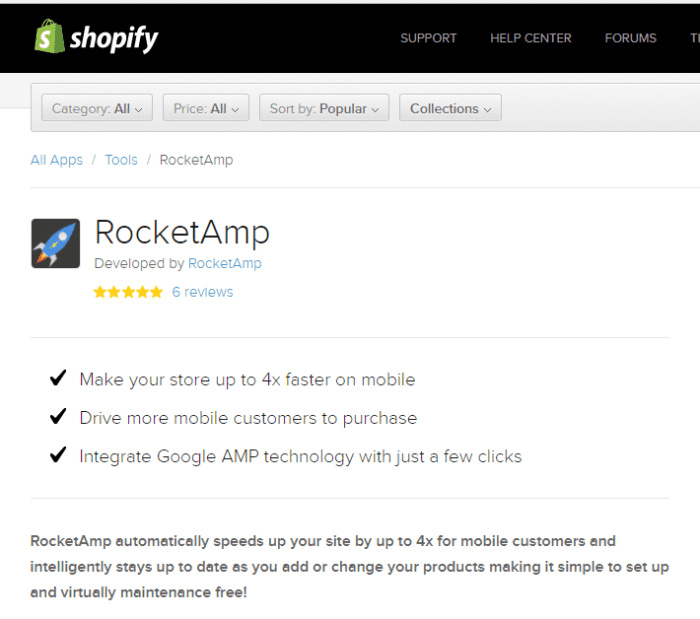 Rocket AMP