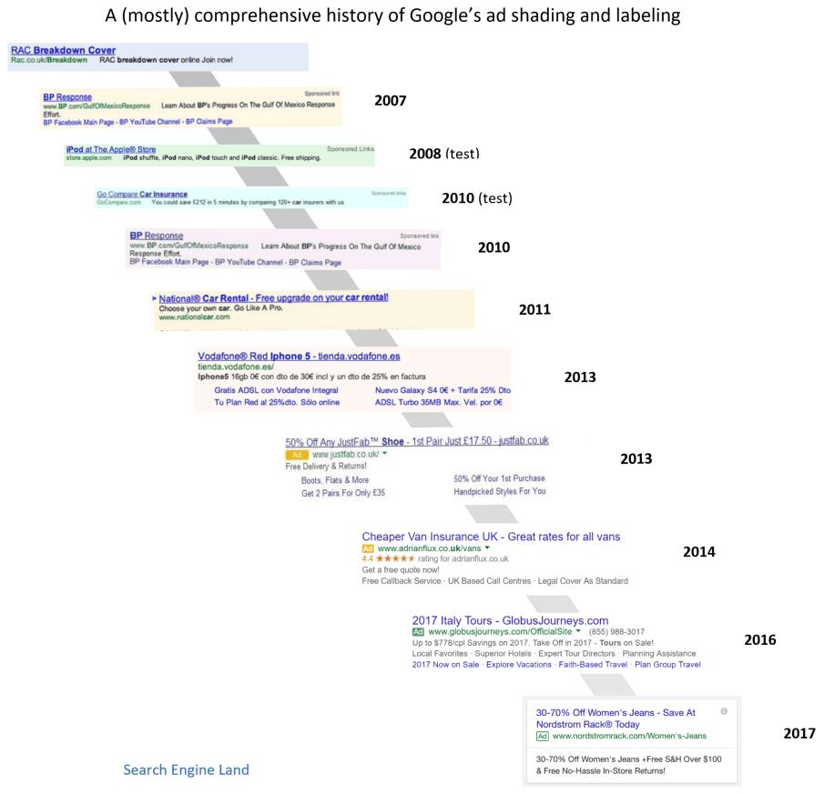 google-ad-shading-labeling-history-update-2017