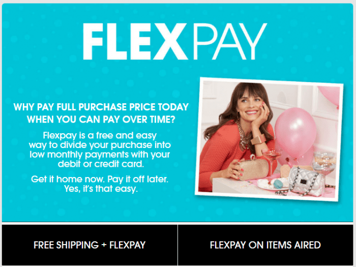 HSN flexpay
