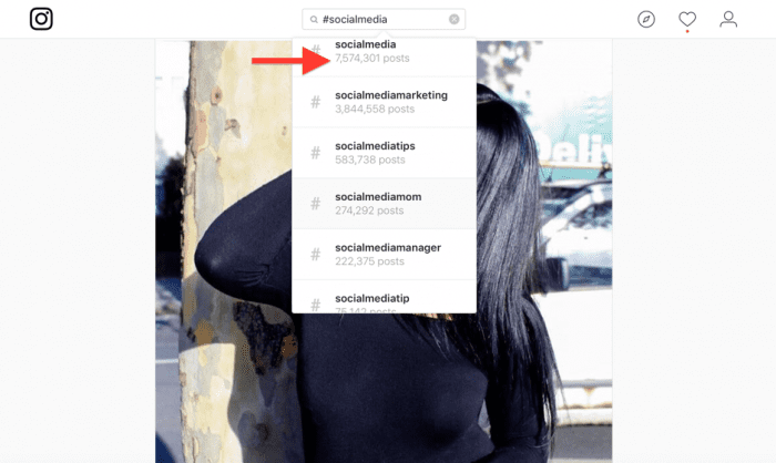 how to add lots of hashtags on instagram