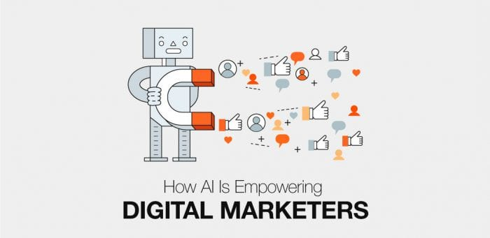 How AI is empowering digital marketers