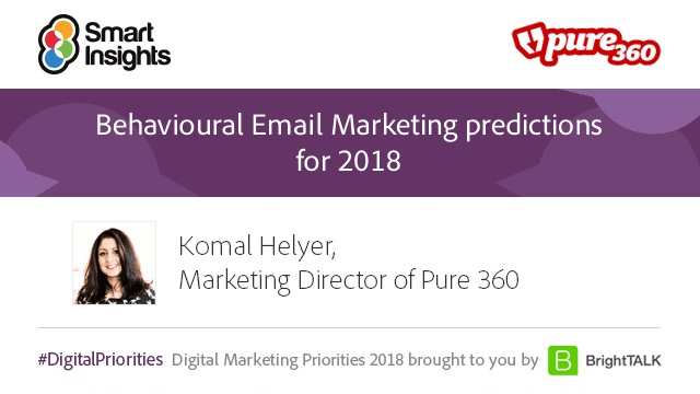 Pure360 behaviour email marketing predictions 2018