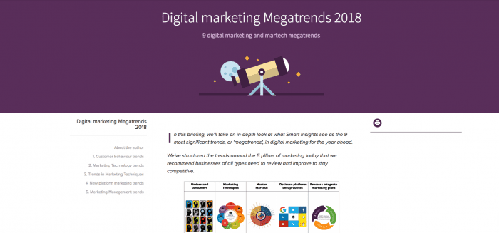 9 digital marketing megatrends 2018 preview
