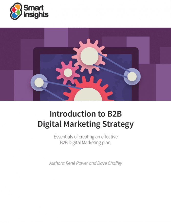B2B digital marketing strategy ebook