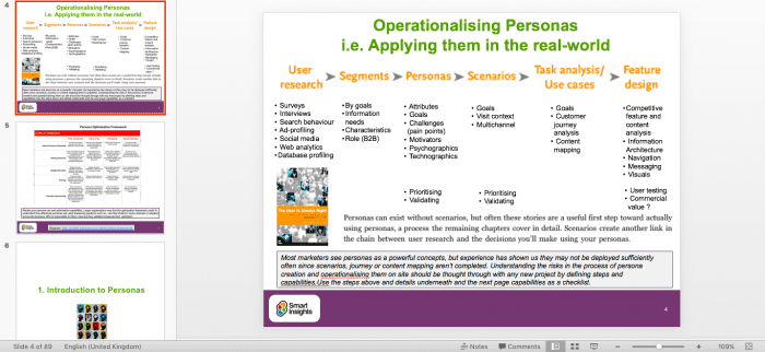 Customer persona guide